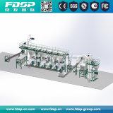 Sistema automático de la planta de pellets de madera, la línea de producción de pellets de madera
