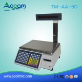 TM-AA-5D 30кг электронная цифровая весом постоянного масштабирования в соответствии с принтером