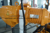 3t het gemotoriseerde Hijstoestel van de Keten van het Type van Karretje Elektrische die - in Shanghai wordt gemaakt
