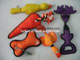 Sleepboot Squeaker van het Stuk speelgoed van het Huisdier van het gevecht kauwt de Sterke het Stuk speelgoed van de Hond