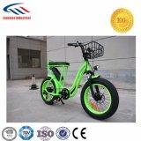 سمين إطار العجلة درّاجة مع سلّة يتيح أن يحمل حقيبة