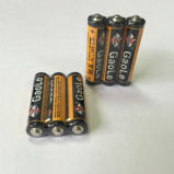 Bateria da pilha seca R03 1.5V do AAA (Mercury livre)