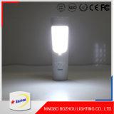 Sensor de la luz de la noche del LED, luz recargable durable del LED