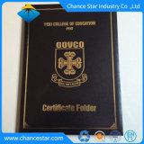 Certificado de graduação Diploma universitário Pasta, Diploma de PVC Tampa de Certificado
