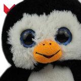 Jouet mou fait sur commande de pingouin de peluche d'OEM de vente chaude
