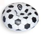 Sofá perezoso inflable del Recliner del PVC del diseño del balón de fútbol
