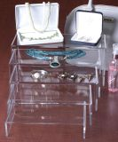 Tamaño personalizado de 3mm/5mm de espesor Elevadores de acrílico transparente