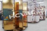 セラミックタイルPVDイオンコータか艶をかけられたセラミックタイルの金張り機械