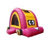 Castelo de salto inflável do carro cor-de-rosa dos desenhos animados para os miúdos Chb700