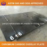 Piastrina ricoperta carburo bimetallico di usura della lamiera di acciaio del bicromato di potassio di Zhangjiagang Yaoyu