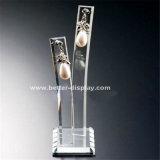 Étalage acrylique Btr-A2015 de boucle d'oreille