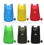 Mini polyester imperméable à l'eau portatif d'OEM campant augmentant le sac à dos de course