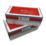 Gewölbt harter die Papverpackungs-Gebrauch-Papierkästen mit glattem aufbereiten lackiert