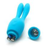 Wir populärer flexibler Geschlechts-Spielzeug-KaninchenMassager