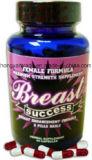 El éxito 90 del pecho encapsula toda la fórmula natural del realce del pecho para las mujeres