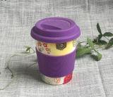 Taza de café de bambú biodegradable al por mayor de la fibra (YK-BC4098)