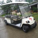 4 Lugares Ambulância Eléctrico Carro de Transporte Hospitalar