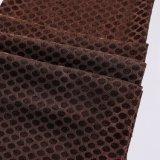 Tela 2018 tecida poliéster de matéria têxtil do jacquard feita em China