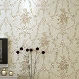 Papier de mur de PVC, Wallcovering, décor de mur, tissu de mur de PVC, feuille de plancher de PVC, papier peint 3D