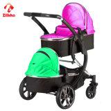 Gute Qualität und preiswerter Two-Seater Baby-Spaziergänger