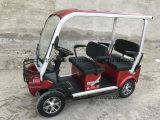 Китай Smart Design дешево 4 мест электрического поля для гольфа автомобильный прицеп с сплава крыши/стеклоочистителя