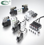 Conectores 오른쪽 페이지 SMC 압축 공기를 넣은 연결관을 적합하에 있는 압축 공기를 넣은 이음쇠 하나 접촉