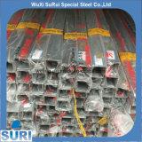 Tubo del cuadrado del acero inoxidable del tubo AISI 316L del cuadrado del acero inoxidable del tubo AISI A554 del cuadrado del acero inoxidable del grado 321