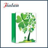 4개의 잎 거여목 디자인 4c 서류상 인쇄된 물색 선물 부대