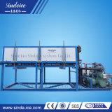 Funzionamento facile di nuovo disegno ghiaccio in pani di raffreddamento diretto industriale da 30 tonnellate che fa macchina da vendere