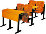 Sf-11h 목제 대학 교실 책상과 의자 세트 대학 강의 룸 의자