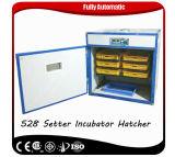 Новая конструированная машина Hatcher цыплятины Bz-528 совмещенная инкубатором