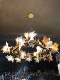Отель проекта декоративные латунные подвесной лампы (ЗВП17-110)