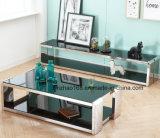 Un tavolino da salotto rispecchiato vetro ovale di 2017 modi