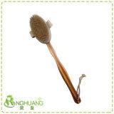Escova de banho Babmoo destacável escova seca Escova do corpo da escova natural
