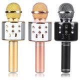 2018 최신 판매 홈 이동할 수 있는 KTV 무선 Bluetooth는 노래 스피커 마이크를 노래한다