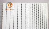Белые стены перфорированной бумаги деревянные Акустические панели управления для домашнего кинотеатра