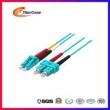 LSZH Corning волокна высокого качества Om3 волоконно-оптический кабель питания исправлений Sc типа