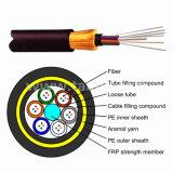 El 24 de Core ADS todas Self-Supporting dieléctrico de cable de fibra óptica al aire libre