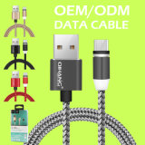 C24 2.4A светодиодный индикатор магнитной мобильного телефона кабель USB кабель передачи данных для Andorid