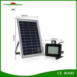 54LED Sensor exterior jardín lámpara Farol Solar