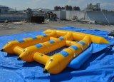 PVC膨脹可能な飛魚座のボートは、膨脹可能なTowableゲームD3065-1を毛鉤で釣る