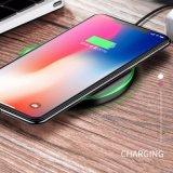 Heiße verkaufende schnelle Ladungqi-drahtlose Standardaufladeeinheit für Samsung für iPhone