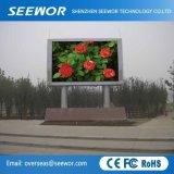 P8mm de alto contraste de pantalla LED de exterior para instalación fija