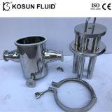 Двойные стенки из нержавеющей стали в защитной оболочке магнитный фильтр для воды продовольственной