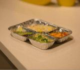 4 cavités 750ml récipient en aluminium pour les emballages alimentaires