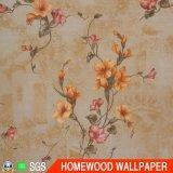 La decoración del hogar de profundidad en relieve el papel de pared