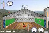 鉄骨構造の家禽は屋根および壁パネルと収容する
