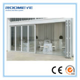 8개의 위원회 미닫이 문을 비스무트 접히는 외부 내부를 이중 유리를 끼우는 Roomeye
