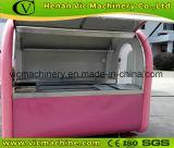Tellement mignonne remorque de chariot de cuisine rose avec une configuration différente