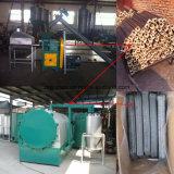 mattonella del carbone di legna 2t che fa riga